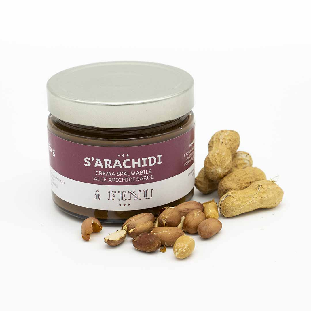 Crema spalmabile di arachidi sarde I Fenu